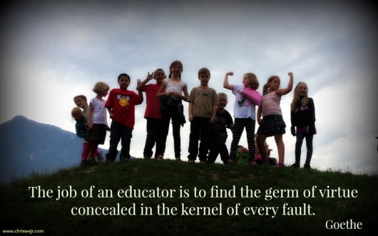 The job of an educator... CC image from https://flic.kr/p/saHiLy