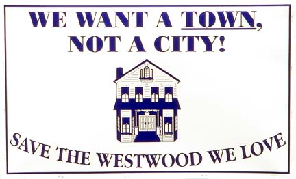 We want a town, not a city.