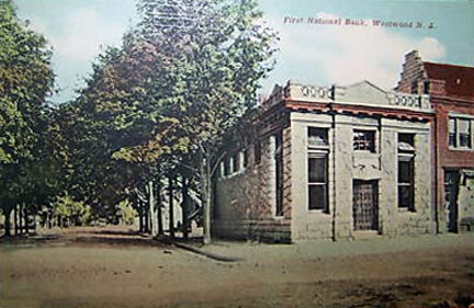 First National Bank - 1910.