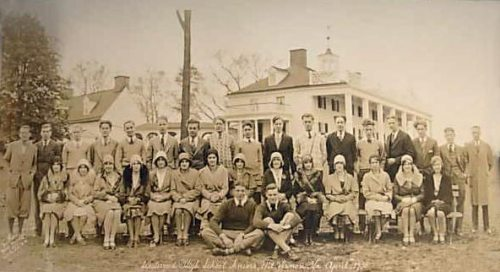 Westwood High School, Class of 1930.