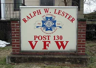 Ralph W. Lester Post 130 VFW.