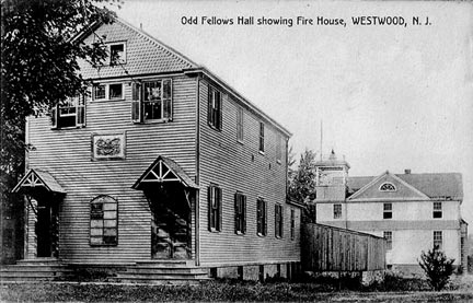 Original Odd Fellows' Hall - Early 1900's.