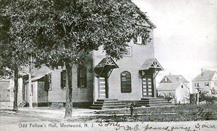 Odd Fellows' Hall - 1908.