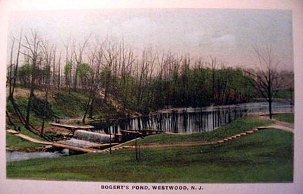 Bogert's Pond - Early 1900's.