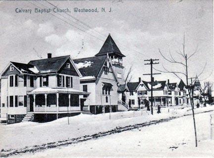 Calvary Baptist Church - 1906.