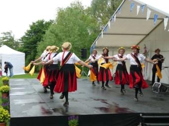 2009: Chippenham Folk Festival - the new (wet) stage