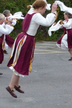 Somerset Morris keep the energy up