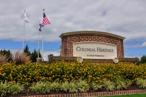colonial heritage sign