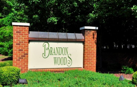entrance to brandon woods