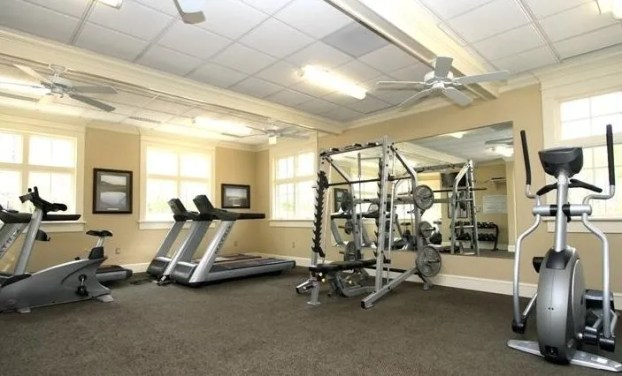 Fitness Room at Clubhouse Stonehouse Glen