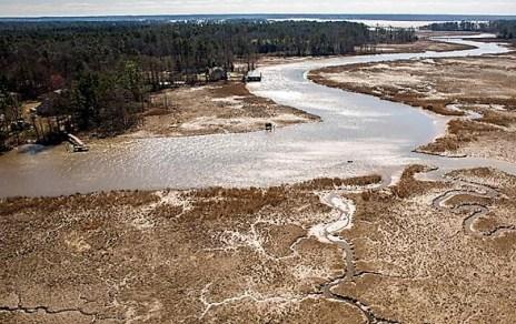 Powhatan Creek aerial
