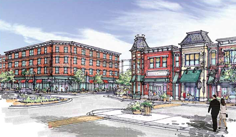 Staples Mill Centre, a new $434 million mixed-use community on a 79.5-acre site along Staples Mill Road in Henrico County, VA..