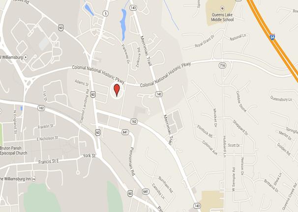 map parkway townes williamsburg va
