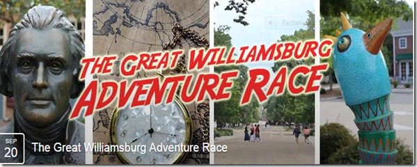 Great Williamsburg Adventure Race.