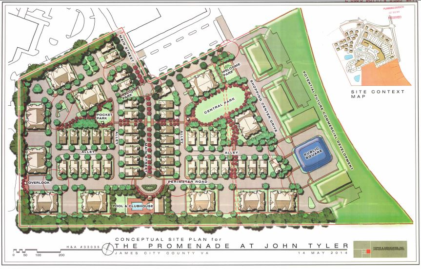promenade-at-john-tyler-siteplan-williamsburg-va