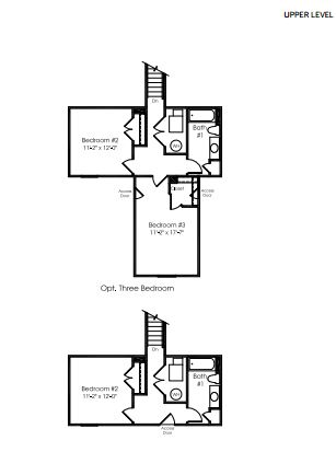 calvert model second floor plan