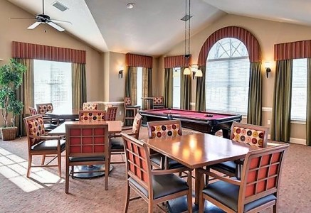 clubhouse at villas at five forks