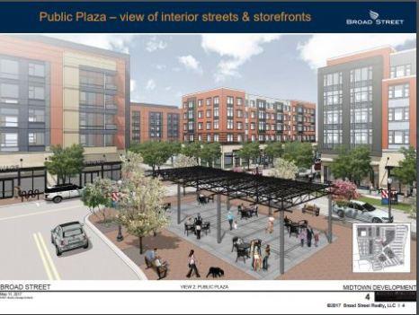 public plaza view the shops at midtown williamsburg va