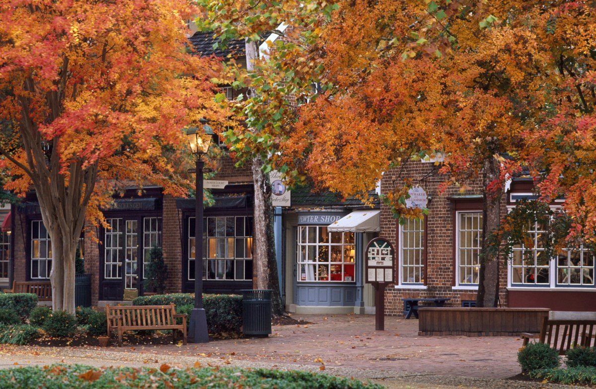 Going Places Near & Far… Williamsburg Bursts With Fall Colors and a ...