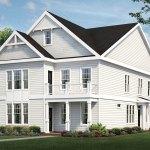 Commonwealth Green homes under construction in Yorktown
