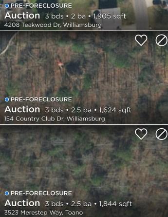 preforeclosures williamsburg va