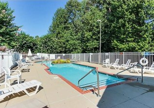 pool in Fairway Villas