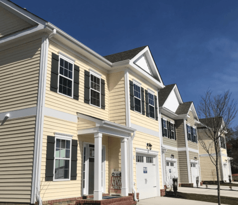town homes in Martin Farm, Yorktown2