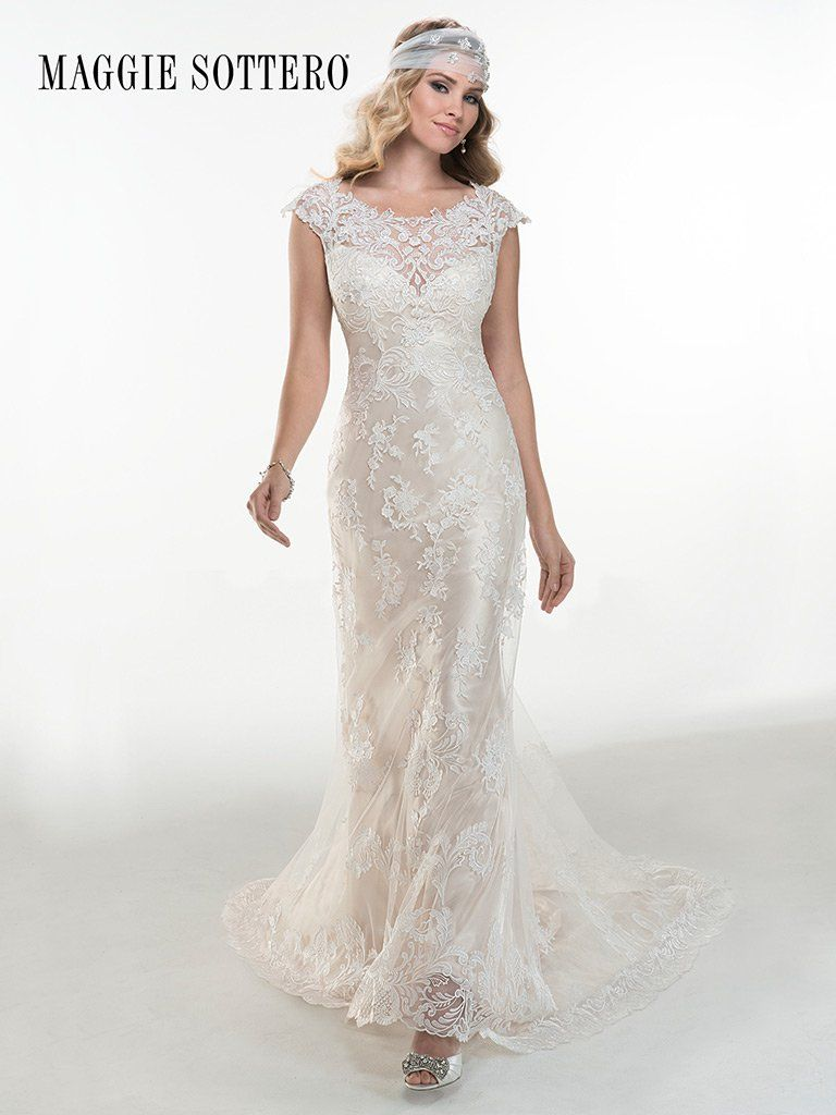 Gown 3 4 Sleeve Lace Bridal