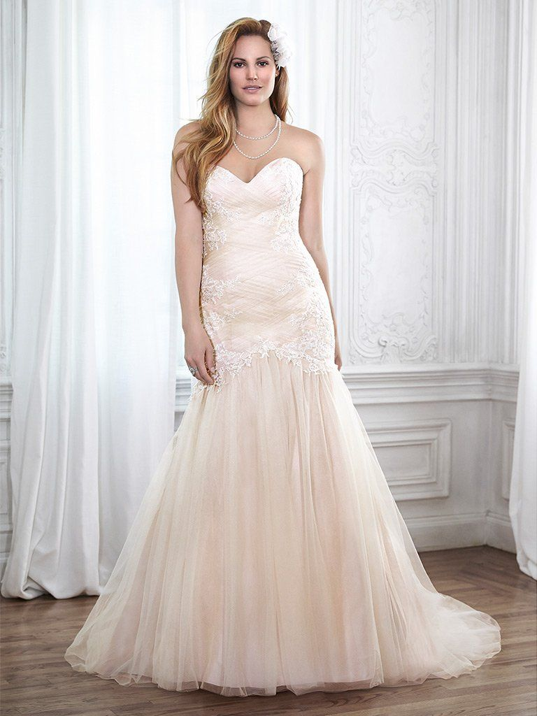 Fit Wedding Soft Lace And Tulle Flare And Neckline Dress Embellished Sweetheart Line
