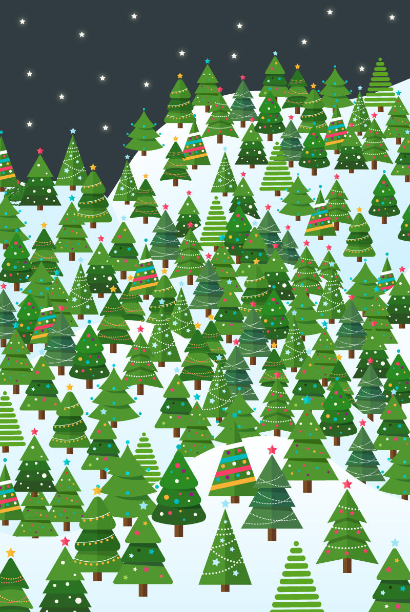 Can You Find The Grinch Hidden Amongst The Xmas Trees