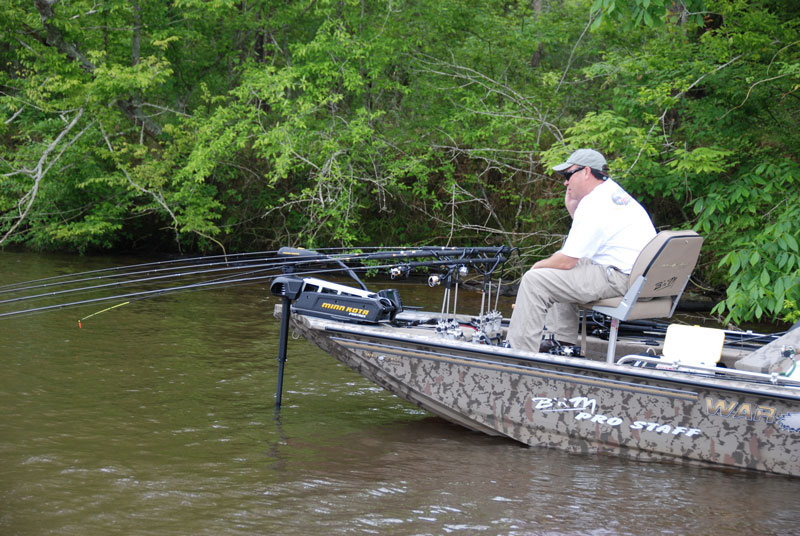 Long poles pushed off the bow of the boat offer pinpoint depth control without spooking wary fish.