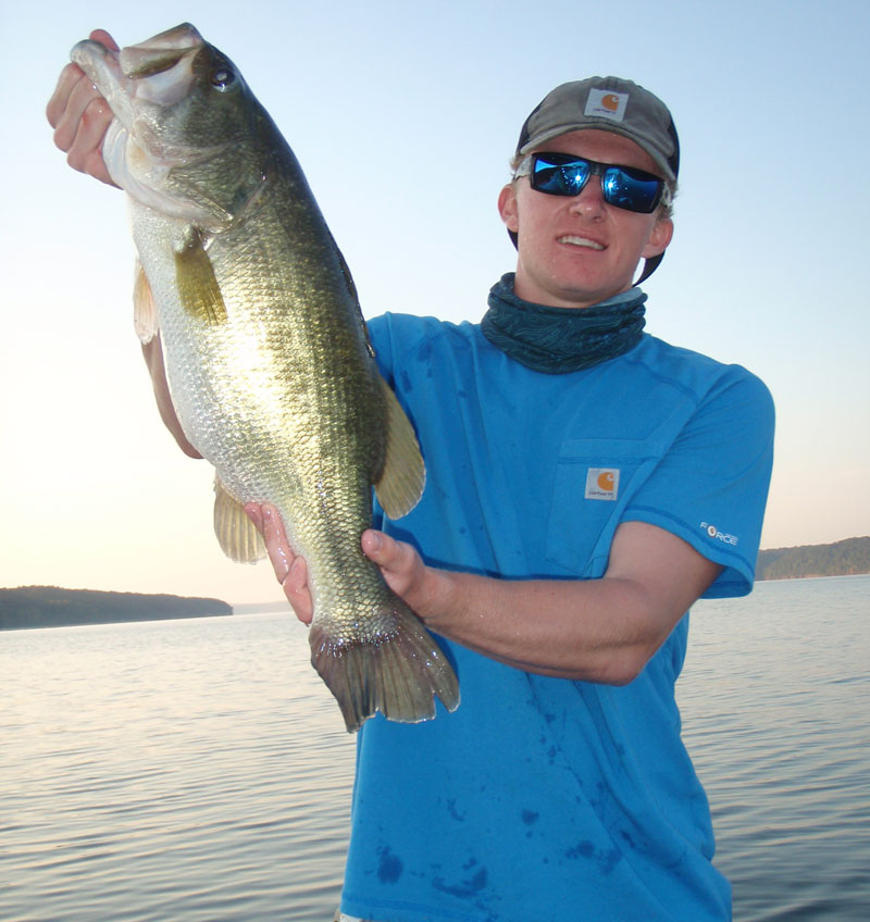 Research has shown fishing decreases the catchability of bass. Catch and release on populations probably will slow the process.