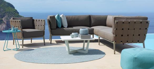 Modular Outdoor Lounge Furniture Adapt to fit your space  Our modular collection of outdoor furniture