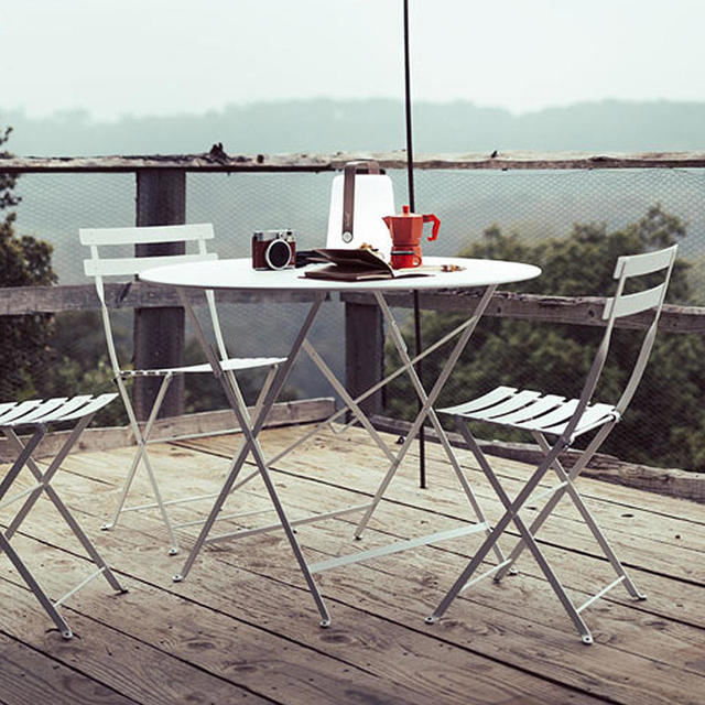 buy bistro 96cm round table by fermob