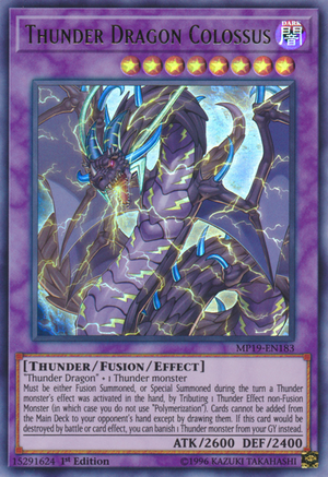 Thunder Dragon Colossus - Yugipedia - Yu-Gi-Oh! wiki