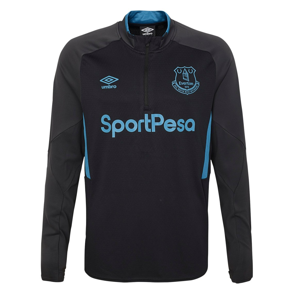 Download Umbro Men's Everton F.C. 19/20 Half Zip Soccer Jersey ...