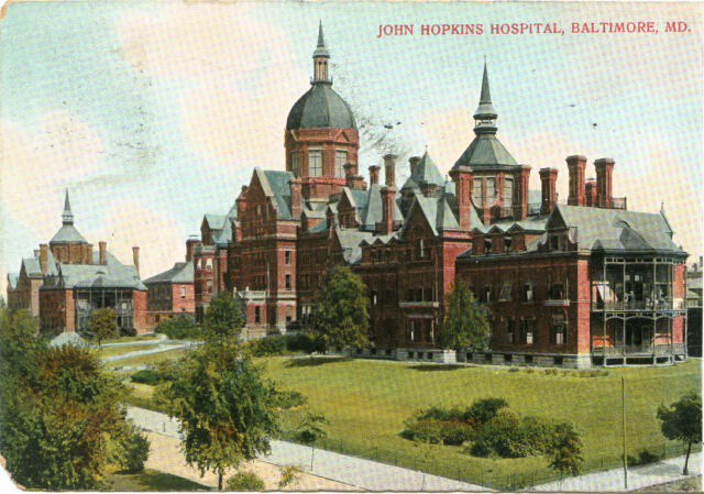 Johns Hopkins Hospital, Baltimore, Md. Private collection.