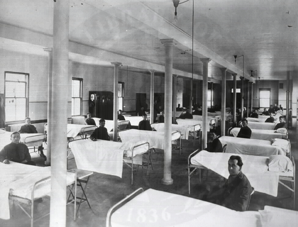 U.S. General Hospital No. 2, Fort McHenry - Interior. Images from the History of Medicine Collection. National Library of Medicine, History of Medicine Division