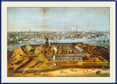 Fort Federal Hill, Baltimore, Maryland. Cator Collection. Enoch Pratt Free Library, Baltimore