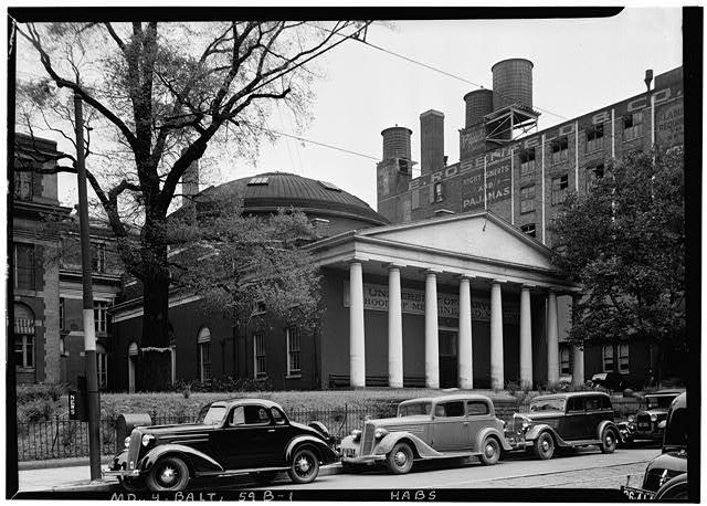 University of Maryland School of Medicine. Historic American Buildings Survey. Library of Congress