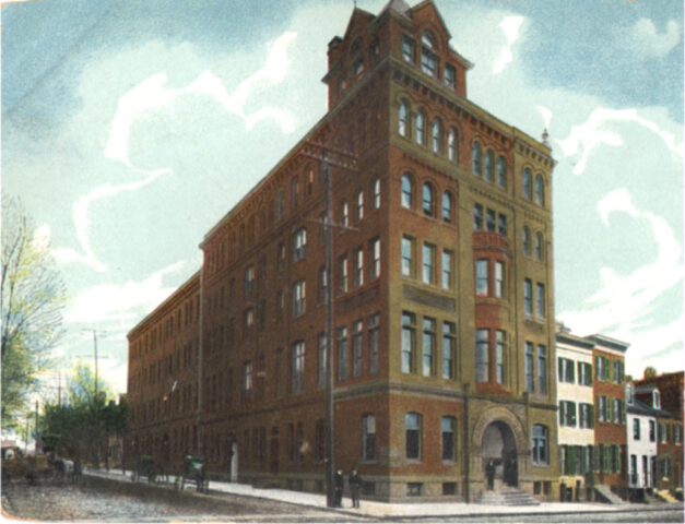 Baltimore Medical College. Private Collection.