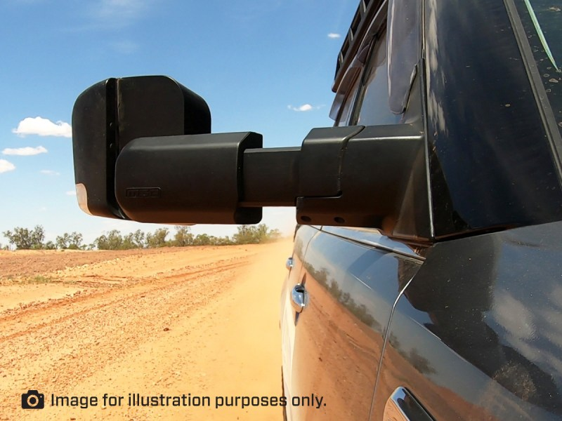 MSA 4X4 Towing Mirror Front View