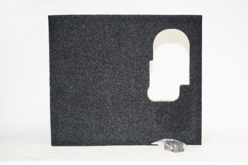 Explorer Power Panel Pre-Cut Panel – Left Hand Side - to suit Universal Double Drawer Complete Kits