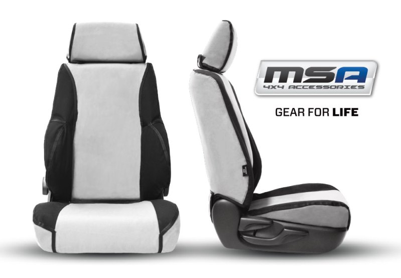 Gear for Life Canvas Seat covers - MSA 4X4 Accessories for 4WD Vehicles