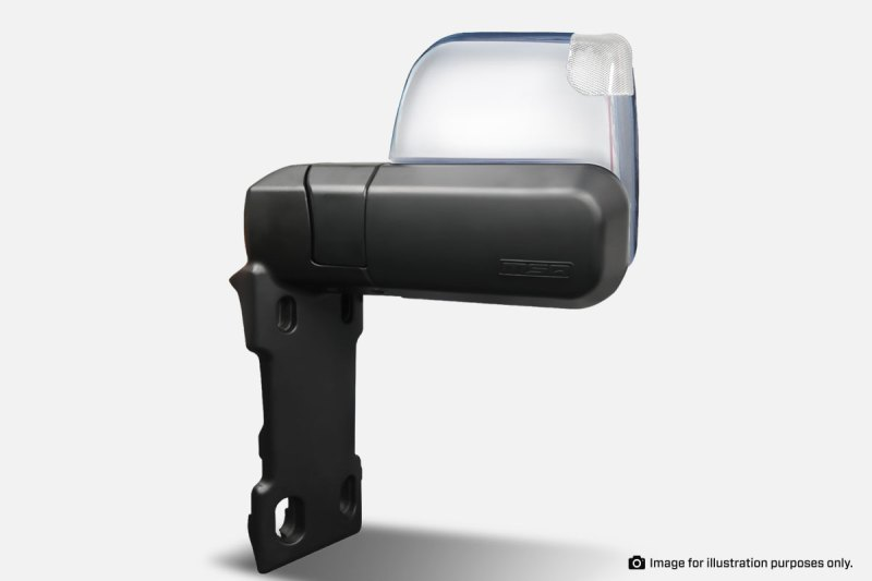 Toyota Hilux LC70 SERIES MSA CHROME TOWING MIRRORS