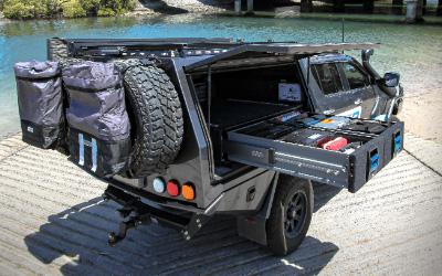 4WD Drawer Storage Solutions from MSA 4X4 Accessories