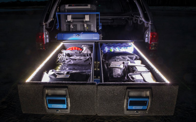 Led Lights Explorer Drawer System Solutions by MSA 4X4 Accessories