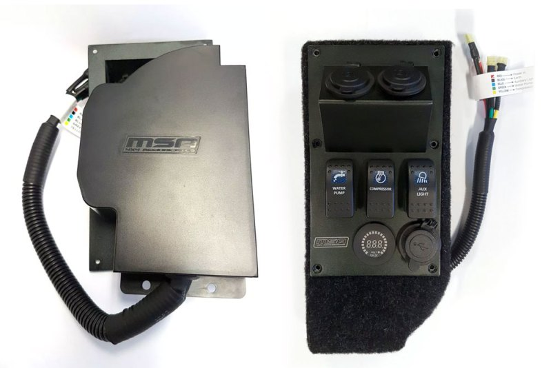 Power Panel Installation Guide - MSA 4X4 ACCESSORIES