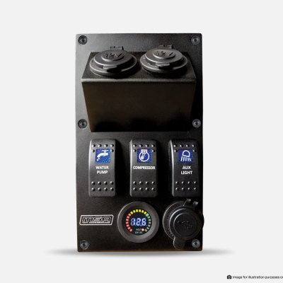 RIGHT SIDE - Power Panel to suit Explorer Drawer System by MSA 4X4 Accessories