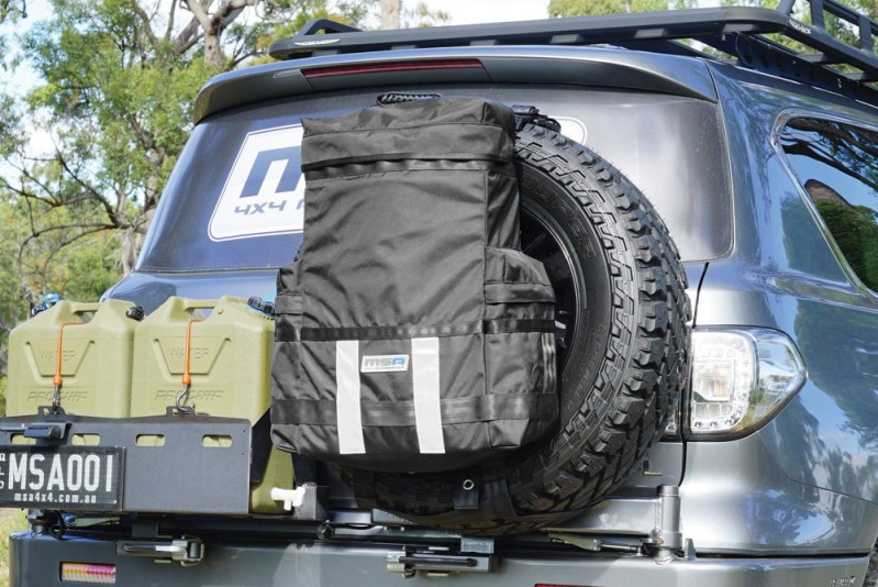 Removable Rear Wheel Bag - MSA 4X4 accessories product